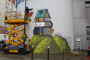 Street-art à Alfortville par Jace