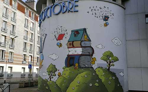 Du Street-art à Alfortville par Jace