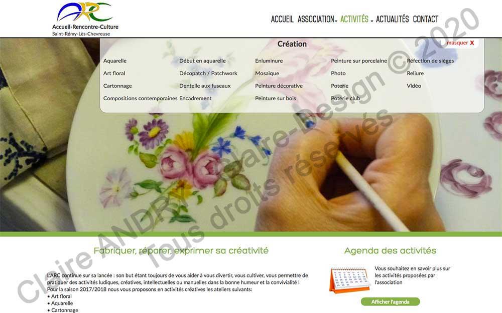 Page activités