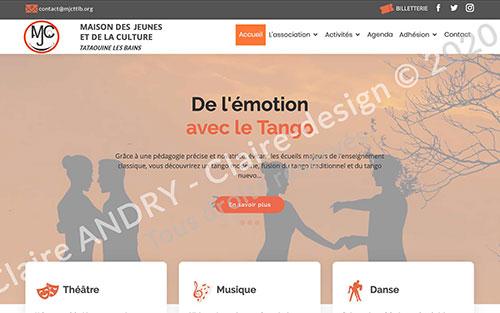 Site Wordpress pour association avec posts custom