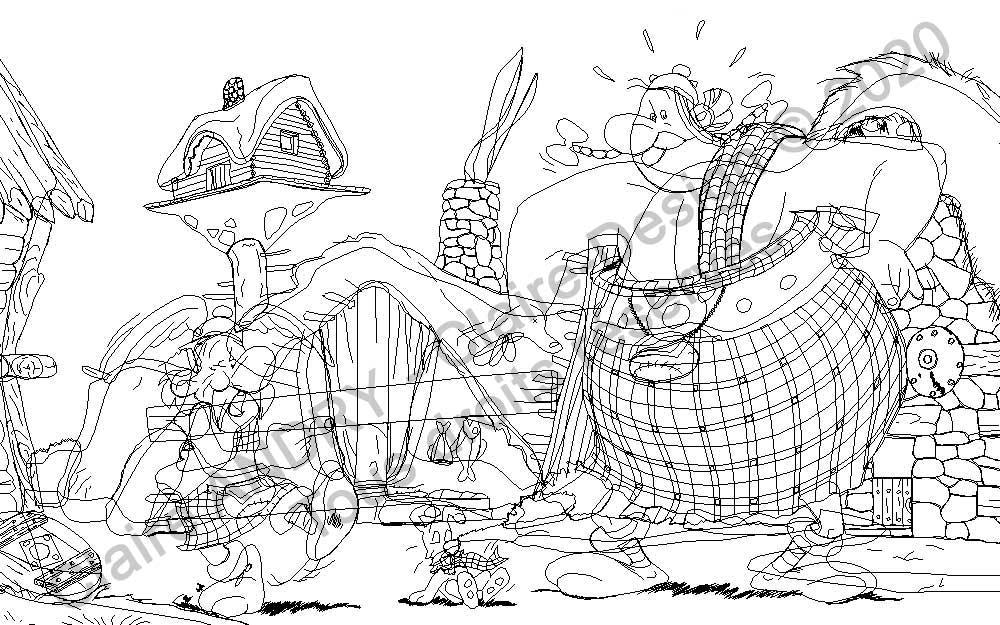 L'illustration en mode filaire