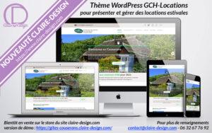Présentation thème WordPress GCH-Locations